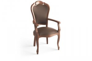 кресло Граф 2 из массива кавказского бука - Мебельная фабрика «Рокос»