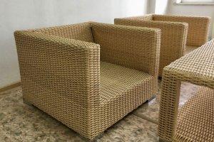 Кресло из искусственного ротанга 01 112 - Мебельная фабрика «АртРотанг»