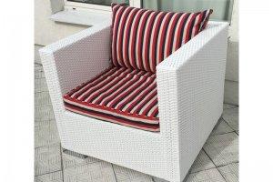 Кресло из искусственного ротанга 2 01 104 - Мебельная фабрика «АртРотанг»