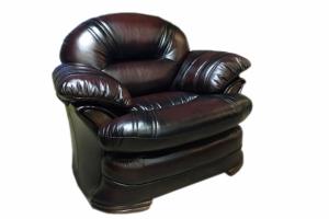 Кресло из натуральной кожи - Мебельная фабрика «Вологодская мебельная фабрика»