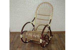 Кресло-качалка Грация с косичкой - Мебельная фабрика «Плетеная Мебель»