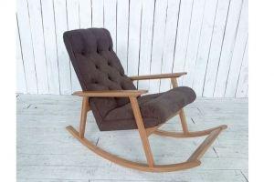 Кресло-качалка  из массива бука - Мебельная фабрика «Палитра»