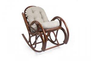 Кресло-качалка из натурального ротанга Bella - Мебельная фабрика «Мебель Импэкс»