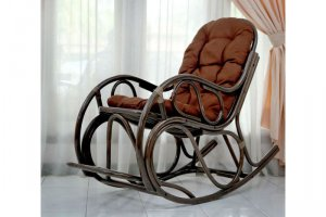 КРЕСЛО-КАЧАЛКА из ротанга 05/17 - Импортёр мебели «ЭкоДизайн (Китай, Индонезия)»