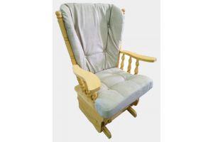 Кресло-качалка из светлого дерева - Мебельная фабрика «Мастер», г. Ульяновск