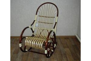 Кресло-качалка Комфорт - Мебельная фабрика «Плетеная Мебель»