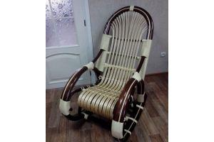 Кресло-качалка Медведь светлая - Мебельная фабрика «Плетеная Мебель»