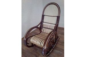 Кресло-качалка Медведь темное - Мебельная фабрика «Плетеная Мебель»