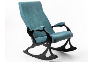 Кресло-качалка Санторини изумруд - Мебельная фабрика «Мебелик»