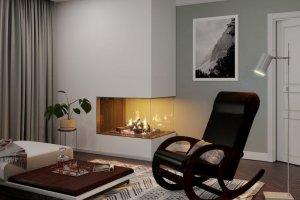 Кресло-качалка темная - Мебельная фабрика «ТМК (Техномебель)»