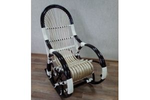 Кресло-качалка Ветла 2 темная - Мебельная фабрика «Плетеная Мебель»
