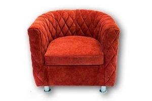 Кресло Космо с отстрочкой - Мебельная фабрика «Black & White»