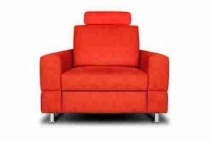 Кресло красное Фостер 2 - Мебельная фабрика «Divanger»