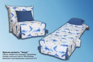 Кресло-кровать Амур - Мебельная фабрика «На Трёхгорной»