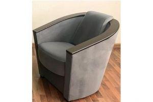Кресло Лео 6 серое - Мебельная фабрика «Лео Люкс»