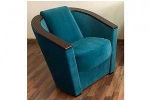 Кресло Лео 6 синее - Мебельная фабрика «Лео Люкс»