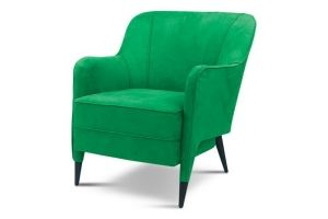 Кресло Luccille зеленое - Мебельная фабрика «Ottostelle»
