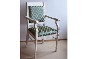 Кресло мягкое массив и патина - Мебельная фабрика «ПримФ»