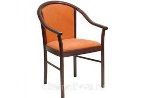 Кресло на деревянных ножках AL 41 - Мебельная фабрика «Alternatиva Design»