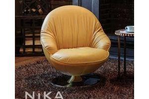Кресло на ножке Лаки - Мебельная фабрика «NIKA premium»