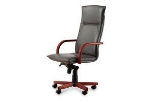 Кресло офисное Berlin P wood - Мебельная фабрика «ДЭФО»
