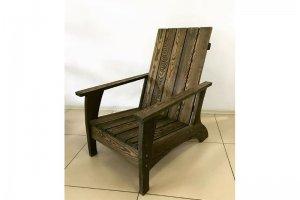 Кресло под старину массив - Мебельная фабрика «Массив»