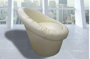 Кресло-пуф со спинкой Лайф-1 - Мебельная фабрика «Садко»