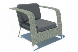 Кресло с ажурными подлокотниками Wedding - Мебельная фабрика «Dome»