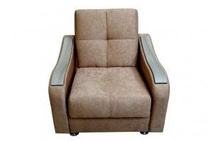 Кресло с деревянным декором - Мебельная фабрика «Мягкий Дом»