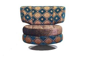 Кресло с поворотным механизмом Бруно - Мебельная фабрика «Элфис»