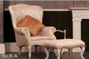 Кресло с пуфом Капабланка - Мебельная фабрика «NIKA premium»