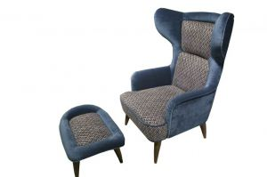 Кресло с пуфом Кармен - Мебельная фабрика «Добрый стиль»
