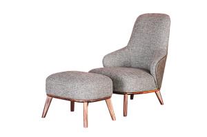 Кресло с пуфом Космо - Мебельная фабрика «Коста Белла»
