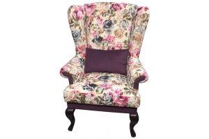 Кресло с ушами - Мебельная фабрика «Ритм»