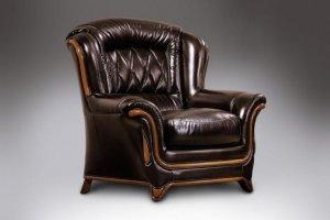 Кресло темное Диана 7 - Мебельная фабрика «ТРИЭС»