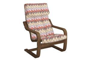 Кресло ТИНО детское каркас тёмный орех - Мебельная фабрика «Твой диван»
