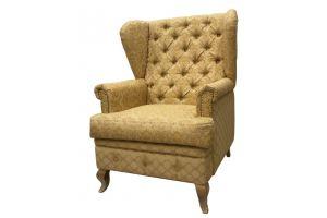 Кресло - трон Дублин с каретной стяжкой - Мебельная фабрика «Гранд»