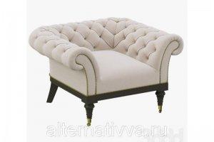 Кресло в стиле Честер AL 186 - Мебельная фабрика «Alternatиva Design»