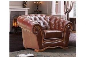 Кресло в стиле Честер Диана 8 - Мебельная фабрика «ТРИЭС»