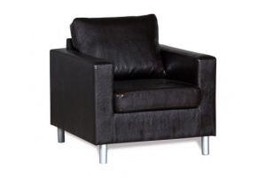 Кресло Ватсон черное - Мебельная фабрика «СМК (Славянская мебельная компания)»