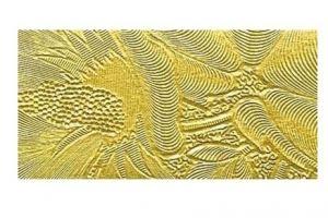 Кромка арт. А25 (цветы золото) - Оптовый поставщик комплектующих «ТПК АНТА»