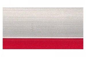 Кромка Серебро + Красный - Оптовый поставщик комплектующих «Марекан»