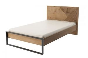 Кровать 1200 с настилом ИД 01.548 - Мебельная фабрика «Интеди»
