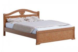Кровать 15 массив березы - Мебельная фабрика «Лама»