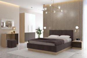 Кровать 1600 ПМ Илия - Мебельная фабрика «Комфорт-S»