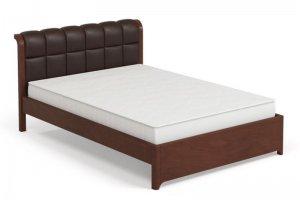 Кровать 17 орех - Мебельная фабрика «Лама»