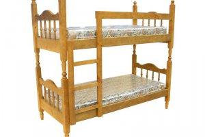 Кровать 2-х ярусная разборная точеная - Мебельная фабрика «ШиковМебель»