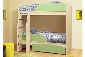Кровать 2 ярусная Омега - Мебельная фабрика «Татьяна»