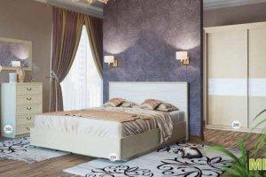 Кровать 234 Спальня МК 57 - Мебельная фабрика «Корвет»