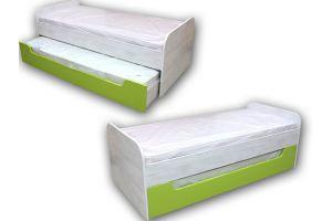 Кровать 2х-спальная фасад плита ЛДСП - Мебельная фабрика «Норд-мебель»